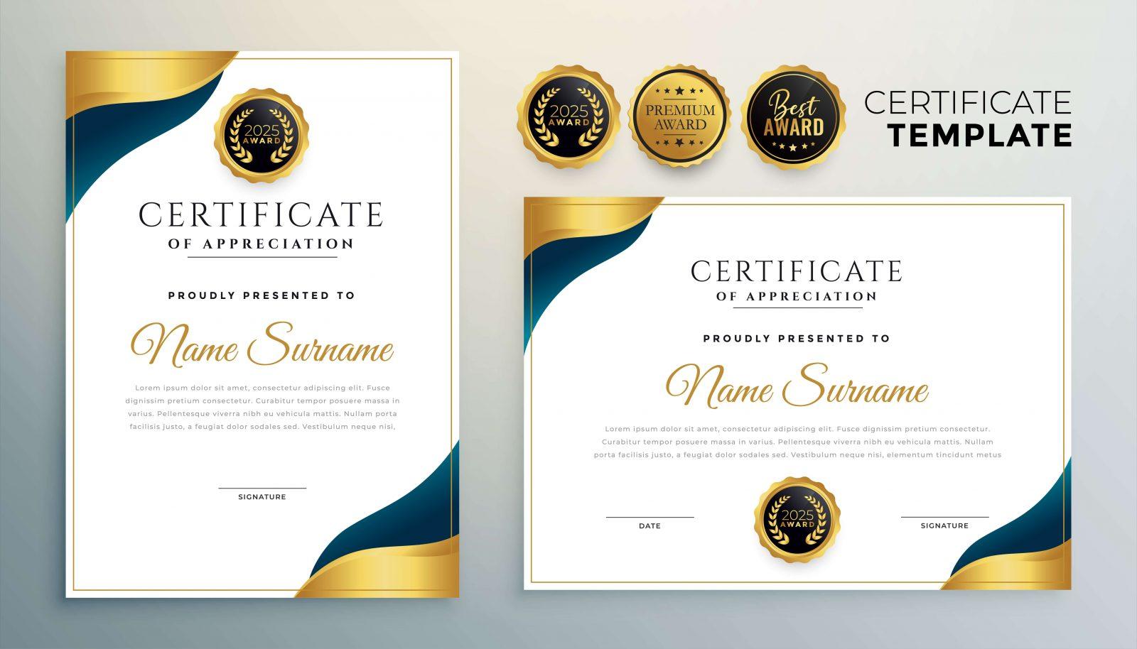 format-certificate